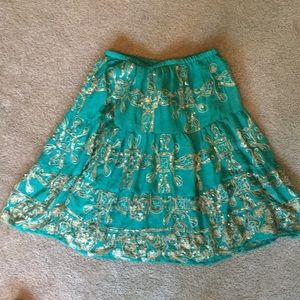 Brand new beaded skirt